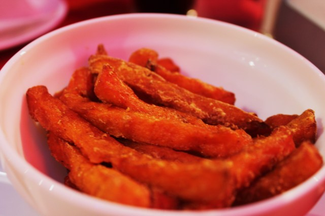 Sweet potato fries- why can you never get these in England?!